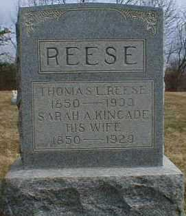 REESE, THOMAS - Gallia County, Ohio | THOMAS REESE - Ohio Gravestone Photos
