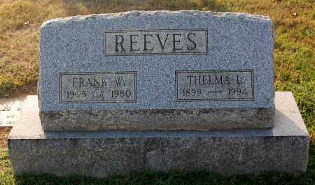 REEVES, THELMA - Gallia County, Ohio | THELMA REEVES - Ohio Gravestone Photos