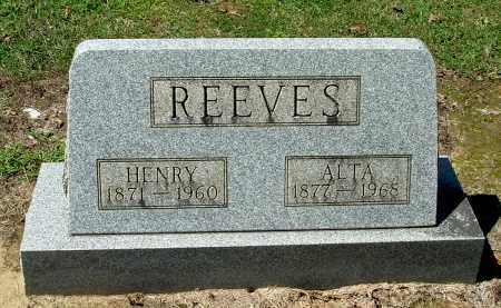 REEVES, ALTA - Gallia County, Ohio | ALTA REEVES - Ohio Gravestone Photos