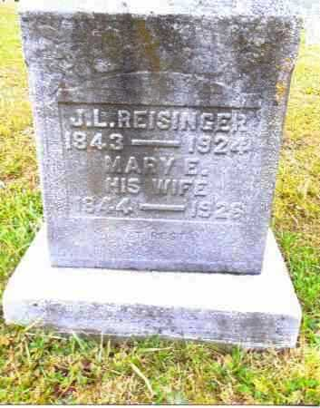 REISINGER, JACOB L. - Gallia County, Ohio | JACOB L. REISINGER - Ohio Gravestone Photos