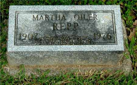 OILER REPP, MARTHA - Gallia County, Ohio | MARTHA OILER REPP - Ohio Gravestone Photos