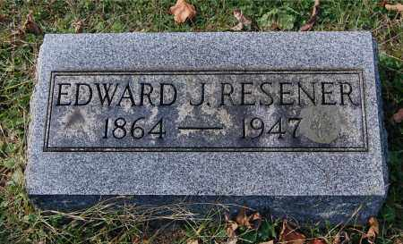 RESENER, EDWARD J - Gallia County, Ohio | EDWARD J RESENER - Ohio Gravestone Photos