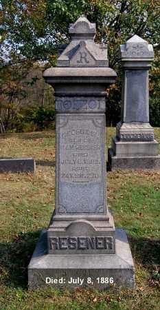 RESENER, GEORGE W - Gallia County, Ohio | GEORGE W RESENER - Ohio Gravestone Photos