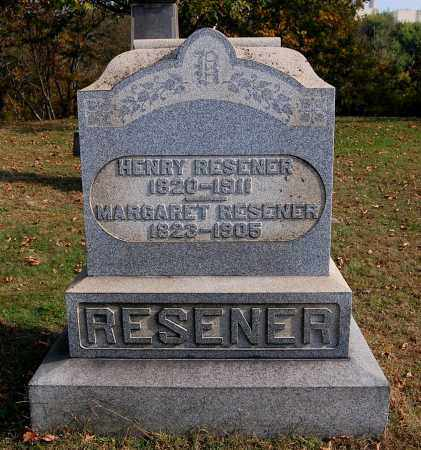RESENER, MARGARET - Gallia County, Ohio | MARGARET RESENER - Ohio Gravestone Photos
