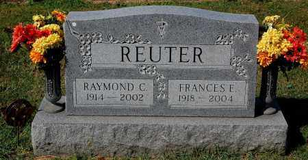 REUTER, FRANCES - Gallia County, Ohio | FRANCES REUTER - Ohio Gravestone Photos
