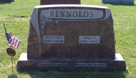 REYNOLDS, CRAYTON CLAUDE - Gallia County, Ohio | CRAYTON CLAUDE REYNOLDS - Ohio Gravestone Photos