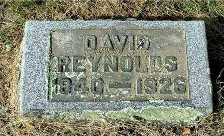 REYNOLDS, DAVID - Gallia County, Ohio | DAVID REYNOLDS - Ohio Gravestone Photos