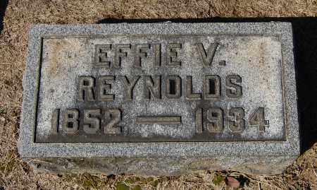 REYNOLDS, EFFIE VIRGINIA - Gallia County, Ohio | EFFIE VIRGINIA REYNOLDS - Ohio Gravestone Photos
