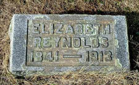 SWISHER REYNOLDS, ELIZABETH - Gallia County, Ohio | ELIZABETH SWISHER REYNOLDS - Ohio Gravestone Photos
