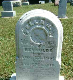 REYNOLDS, ELLA J. - Gallia County, Ohio | ELLA J. REYNOLDS - Ohio Gravestone Photos