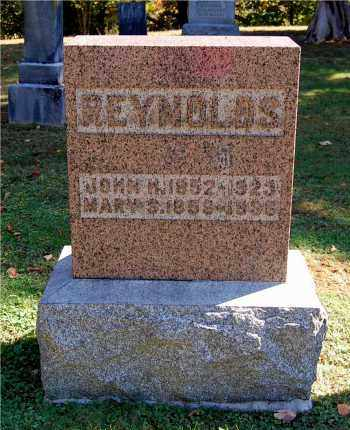 EBLIN REYNOLDS, MARY S - Gallia County, Ohio | MARY S EBLIN REYNOLDS - Ohio Gravestone Photos