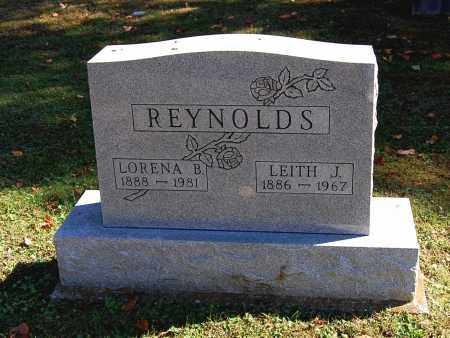 REYNOLDS, LEITH J - Gallia County, Ohio | LEITH J REYNOLDS - Ohio Gravestone Photos