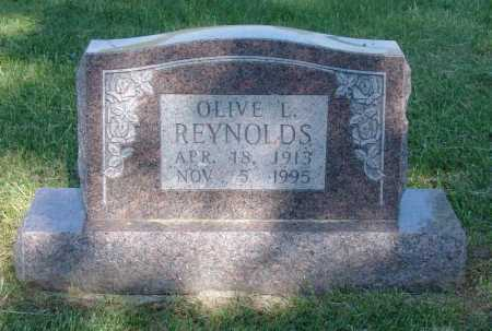 REYNOLDS, OLIVE LORETTA - Gallia County, Ohio   OLIVE LORETTA REYNOLDS - Ohio Gravestone Photos