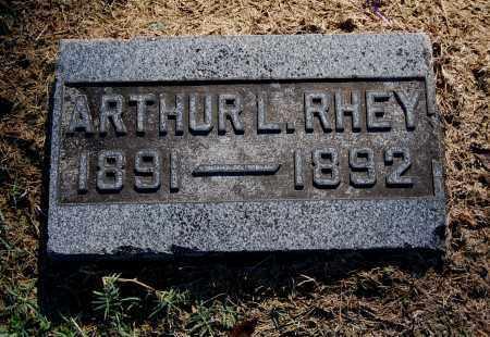 RHEY, ARTHUR L - Gallia County, Ohio | ARTHUR L RHEY - Ohio Gravestone Photos