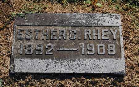RHEY, ESTHER C - Gallia County, Ohio | ESTHER C RHEY - Ohio Gravestone Photos