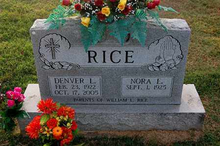 RICE, DENVER - Gallia County, Ohio | DENVER RICE - Ohio Gravestone Photos