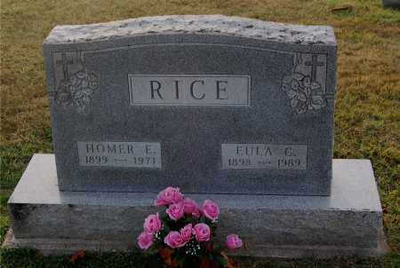 RICE, EULA - Gallia County, Ohio | EULA RICE - Ohio Gravestone Photos