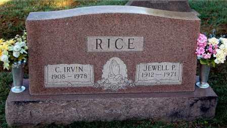 RICE, IRVIN - Gallia County, Ohio | IRVIN RICE - Ohio Gravestone Photos