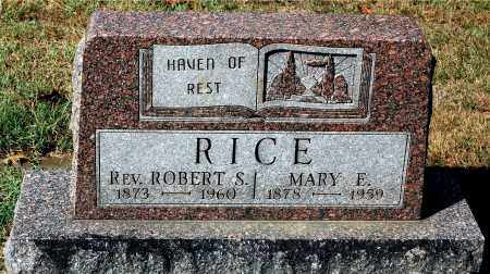 RICE, ROBERT - Gallia County, Ohio | ROBERT RICE - Ohio Gravestone Photos