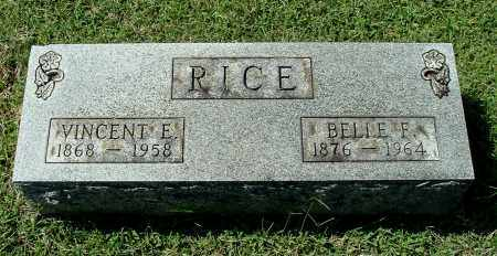 RICE, BELLE F - Gallia County, Ohio | BELLE F RICE - Ohio Gravestone Photos