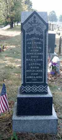 RICE, GEROME - Gallia County, Ohio | GEROME RICE - Ohio Gravestone Photos