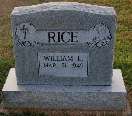 RICE, WILLIAM - Gallia County, Ohio | WILLIAM RICE - Ohio Gravestone Photos