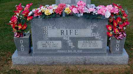 RIFE, ALVA - Gallia County, Ohio | ALVA RIFE - Ohio Gravestone Photos