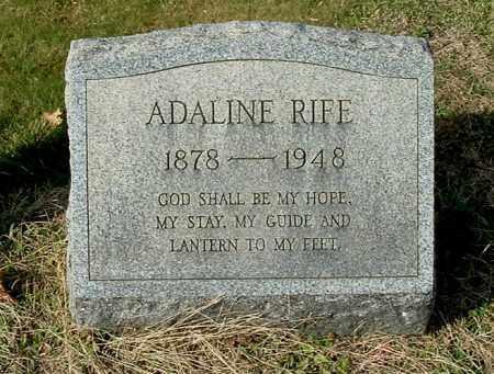 RIFE, ADALINE - Gallia County, Ohio | ADALINE RIFE - Ohio Gravestone Photos