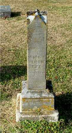 RIFE, CHILDREN - Gallia County, Ohio | CHILDREN RIFE - Ohio Gravestone Photos