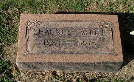 RIFE, CHAUNCEY W - Gallia County, Ohio | CHAUNCEY W RIFE - Ohio Gravestone Photos