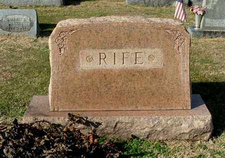 RIFE, FAMILY MONUMENT #2 - Gallia County, Ohio | FAMILY MONUMENT #2 RIFE - Ohio Gravestone Photos