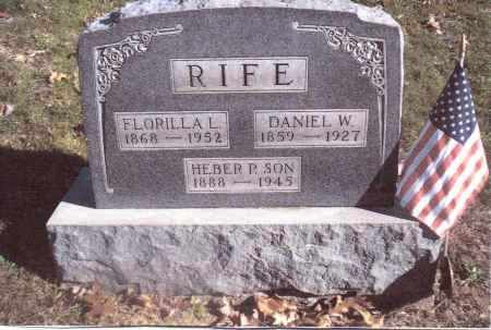 RIFE, DANIEL W. - Gallia County, Ohio | DANIEL W. RIFE - Ohio Gravestone Photos