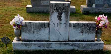 RIFE, FAMILY MONUMENT - Gallia County, Ohio | FAMILY MONUMENT RIFE - Ohio Gravestone Photos