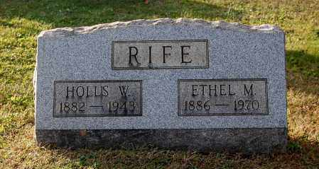 RIFE, ETHEL M - Gallia County, Ohio | ETHEL M RIFE - Ohio Gravestone Photos
