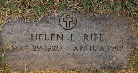 RIFE, HELEN - Gallia County, Ohio | HELEN RIFE - Ohio Gravestone Photos