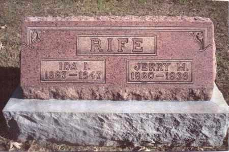 RIFE, IDA IRENE - Gallia County, Ohio | IDA IRENE RIFE - Ohio Gravestone Photos