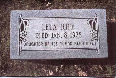 RIFE, LELA - Gallia County, Ohio | LELA RIFE - Ohio Gravestone Photos