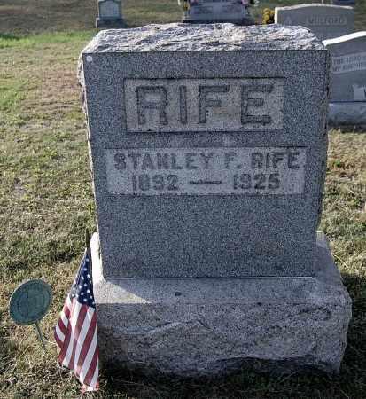 RIFE, STANLEY F - Gallia County, Ohio | STANLEY F RIFE - Ohio Gravestone Photos