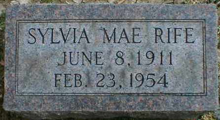 RIFE, SYLVIA - Gallia County, Ohio | SYLVIA RIFE - Ohio Gravestone Photos