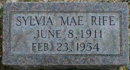 RIFE, SYLVIA - Gallia County, Ohio | SYLVIA RIFE - Ohio Gravestone Photos