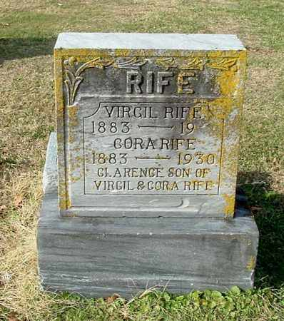 GILKEY RIFE, CORA - Gallia County, Ohio | CORA GILKEY RIFE - Ohio Gravestone Photos