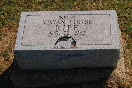RIFE, VIVIAN LOUISE - Gallia County, Ohio | VIVIAN LOUISE RIFE - Ohio Gravestone Photos