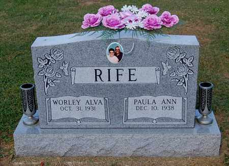 RIFE, PAULA ANN - Gallia County, Ohio | PAULA ANN RIFE - Ohio Gravestone Photos