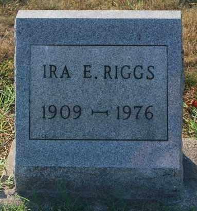 RIGGS, IRA E. - Gallia County, Ohio | IRA E. RIGGS - Ohio Gravestone Photos