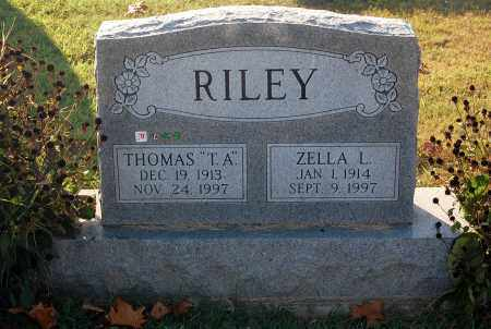 RILEY, ZELLA L. - Gallia County, Ohio | ZELLA L. RILEY - Ohio Gravestone Photos