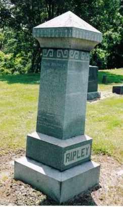 PECK RIPLEY, MALINDA ARBELLA - Gallia County, Ohio | MALINDA ARBELLA PECK RIPLEY - Ohio Gravestone Photos