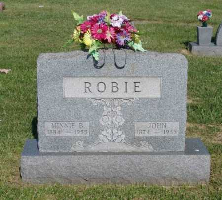 ROBIE, JOHN - Gallia County, Ohio | JOHN ROBIE - Ohio Gravestone Photos
