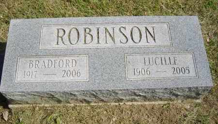 ROBINSON, BRADFORD - Gallia County, Ohio | BRADFORD ROBINSON - Ohio Gravestone Photos