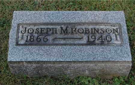 ROBINSON, JOSEPH M - Gallia County, Ohio | JOSEPH M ROBINSON - Ohio Gravestone Photos