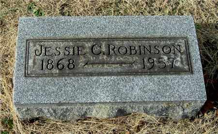 ROBINSON, JESSIE C - Gallia County, Ohio | JESSIE C ROBINSON - Ohio Gravestone Photos